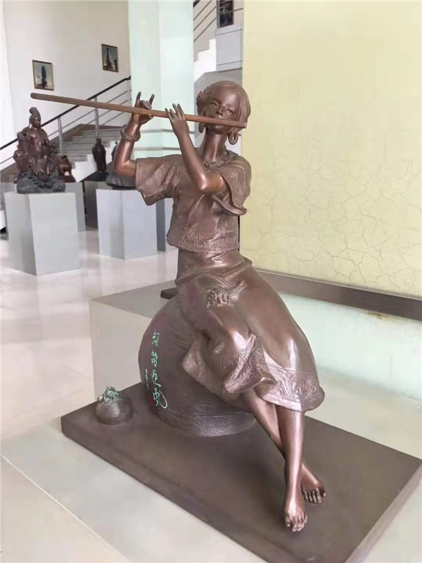 四川铸造铜人物雕塑