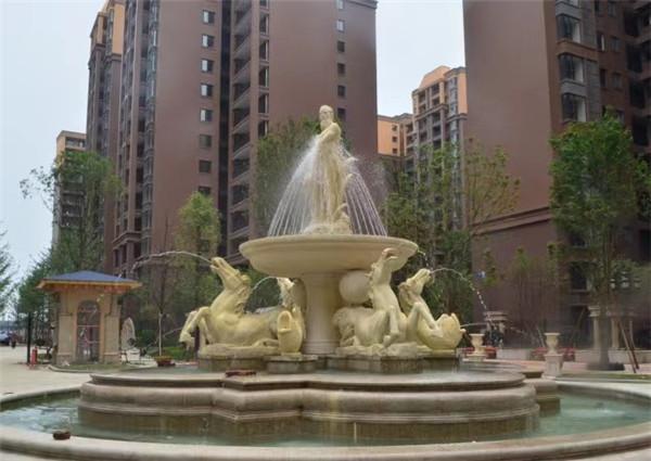 四川砂岩雕塑喷泉