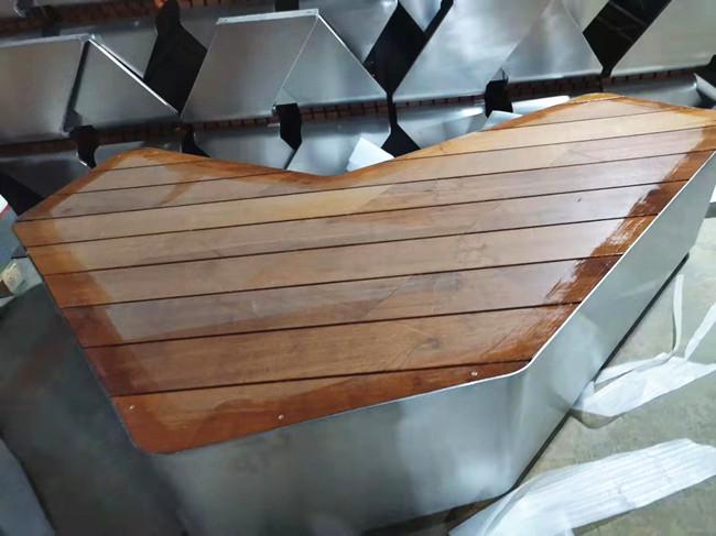 四川防腐木公园椅