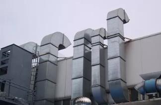 完成整个通风管道系统必不可少的几个备件。