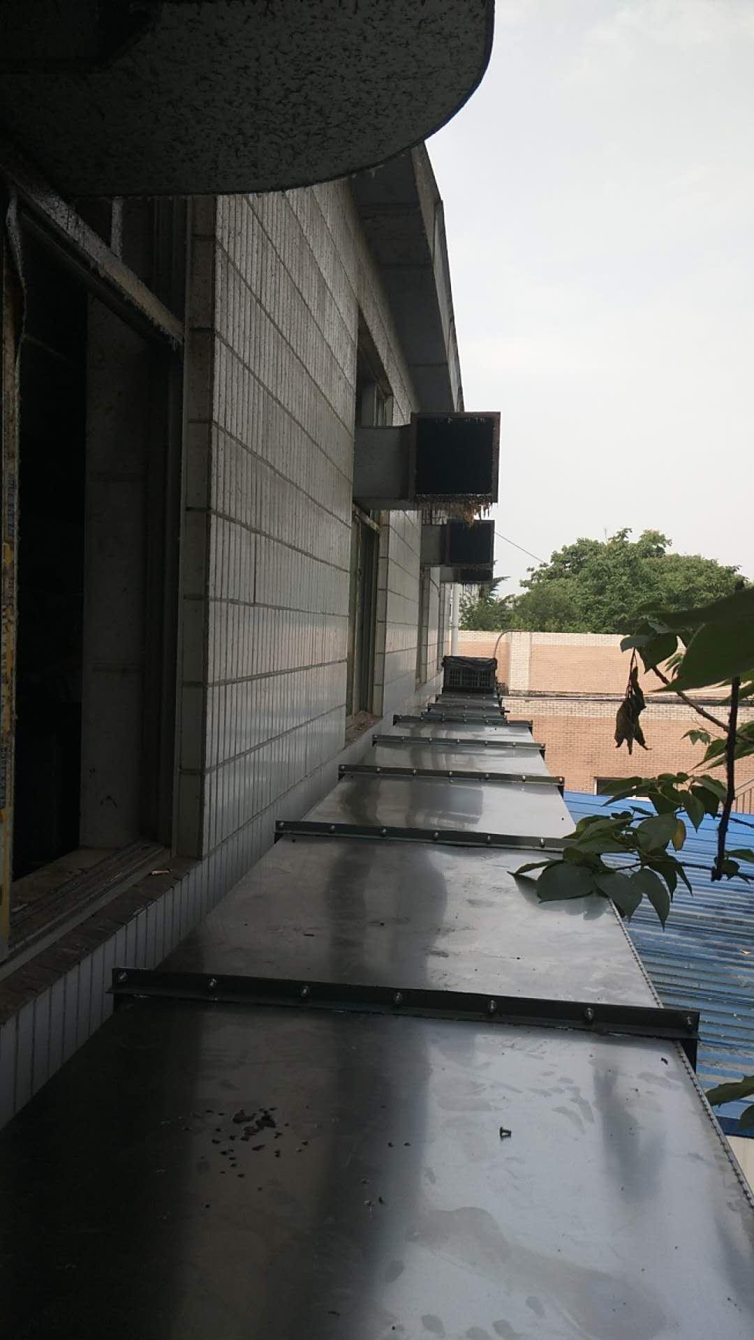 使用通风管道为学校通风透气方案