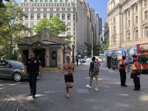 参观自由女神黄牛拉客扰民 纽约华裔众议员制止被骂