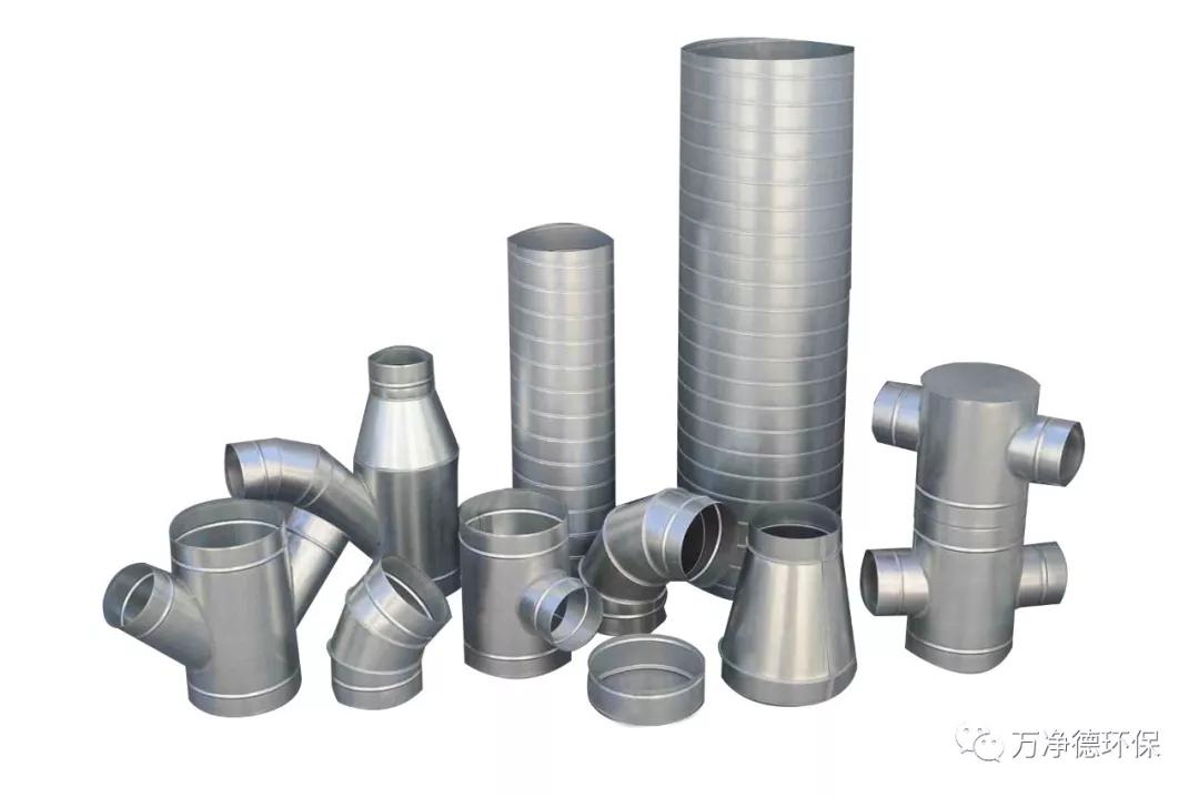 什么是风管,常见西安通风管道风管有哪些类型