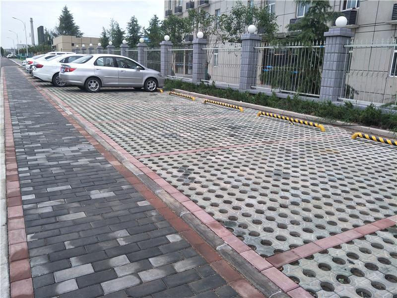 杨凌华电停车场