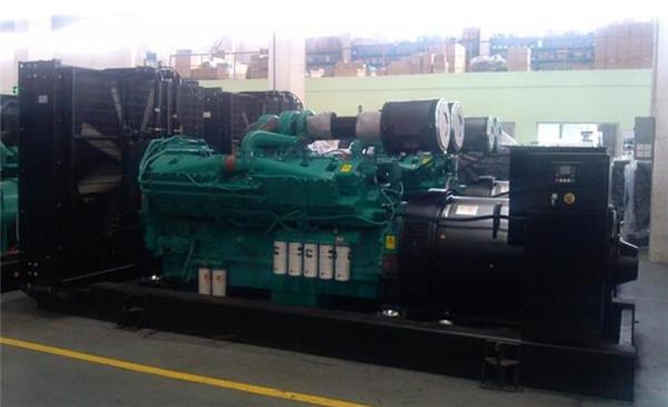 西安1200kw发电机租赁