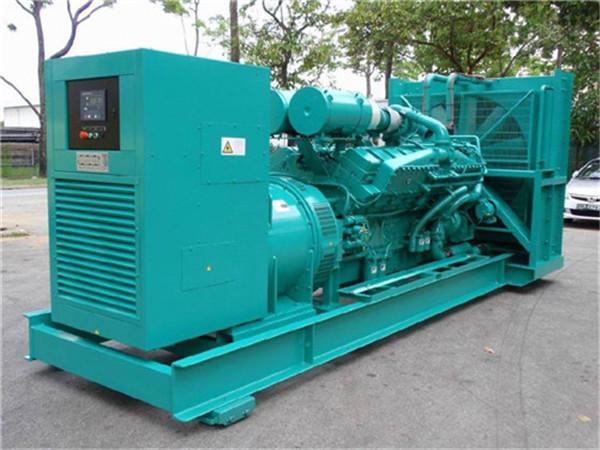 万科地产公司成交两台柴油发电机组