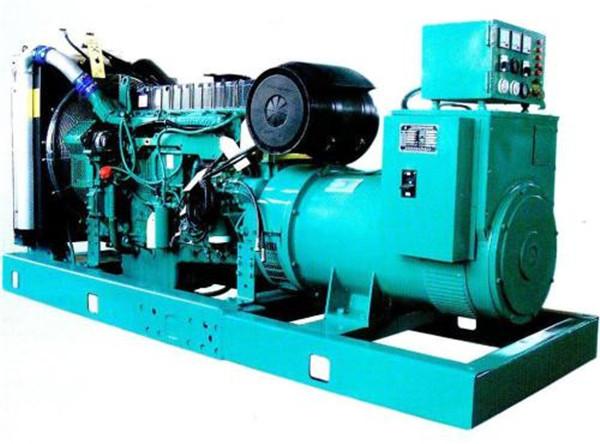 西安中辉房地产成交一台柴油发电机