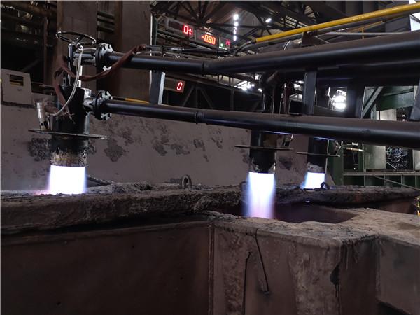 辽宁某钢厂高炉煤气 钢包烘烤器 电子点火、火焰检测熄火保护报警控制