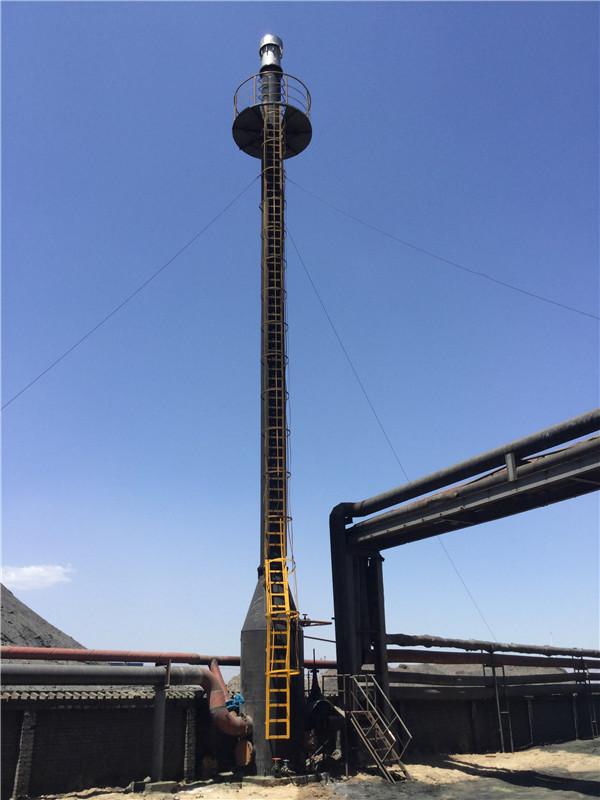 宁夏某焦化厂焦炉煤气放散火炬点火系统