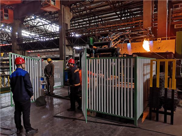 山西某钢厂高炉煤气 钢包烘烤器 电子点火、火焰检测熄火保护报警控制