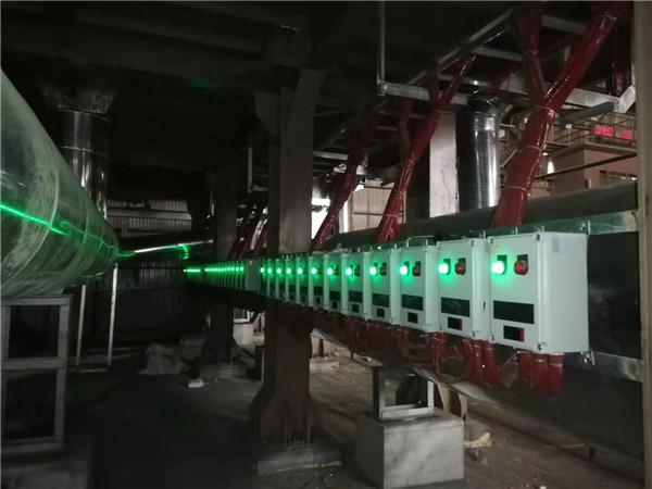 湖北 某钢厂废钢预热系统电子点火、火焰检测熄火保护报警控制