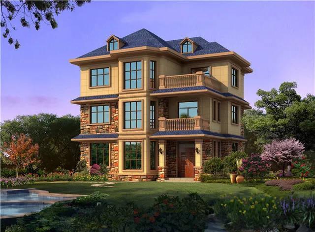 汉中三层轻钢别墅设计