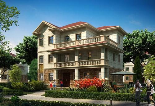 汉中轻钢别墅设计