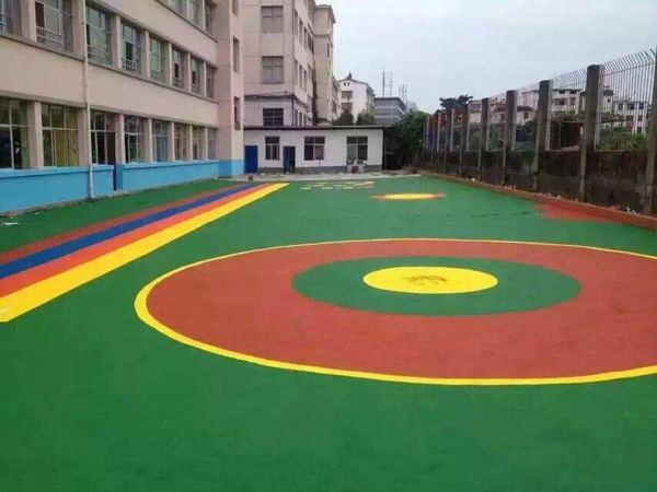 西安彩色地坪工程施工