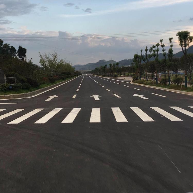 人行道斑马标线怎么施工?西安斑马线划线公司来分享