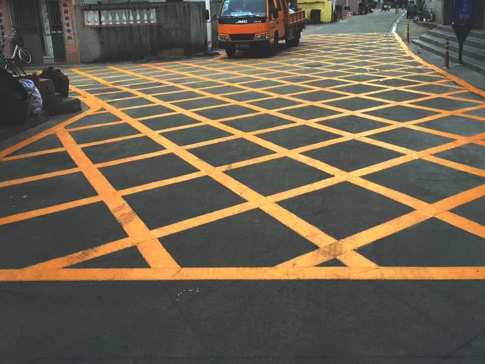 西安网格线划线公司带大家了解认识几种道路标线,一起来看看