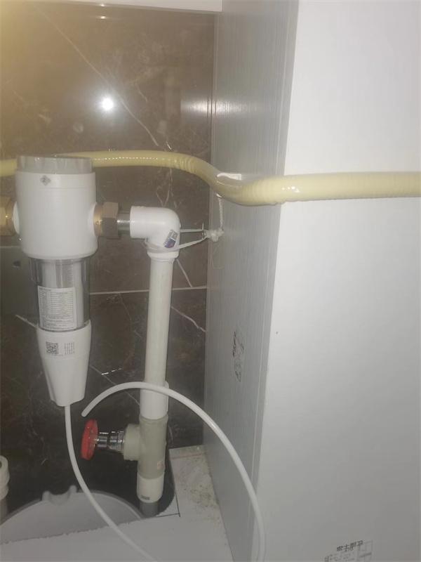 前置+厨房净水机+软水机安装案例