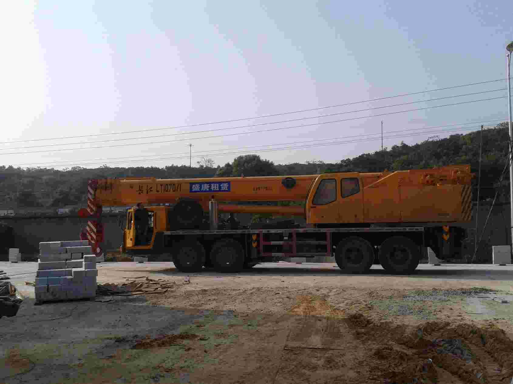 70吨起重机