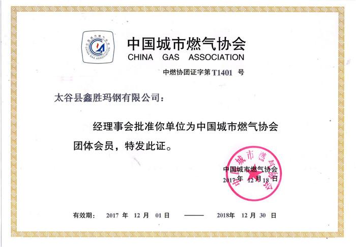 中国城市燃气协会