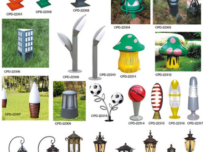 宁夏草坪灯设计