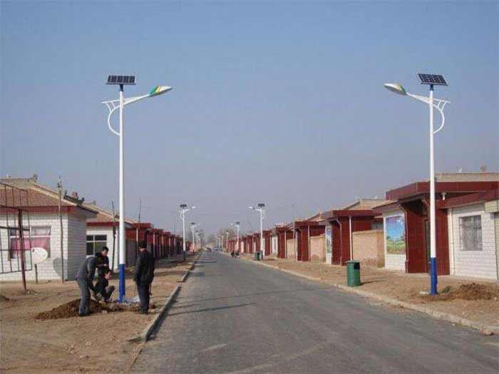 中卫市宣和镇农村太阳能路灯安装