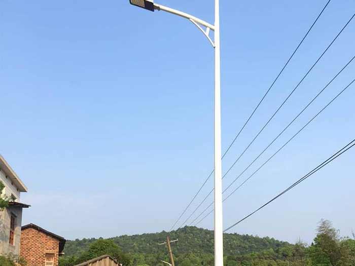 中卫市沙滩村太阳能路灯安装达成合作