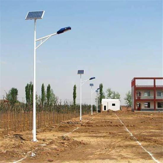 安裝寧夏太陽能路燈,照亮村民幸福路