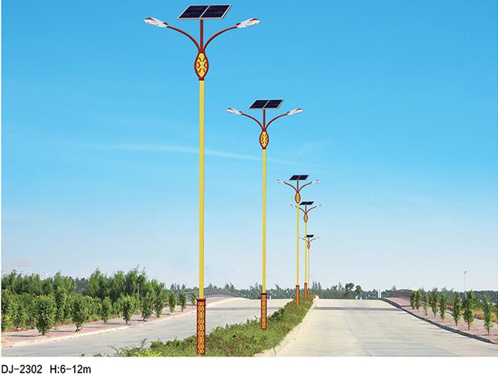 宁夏太阳能路灯安装施工