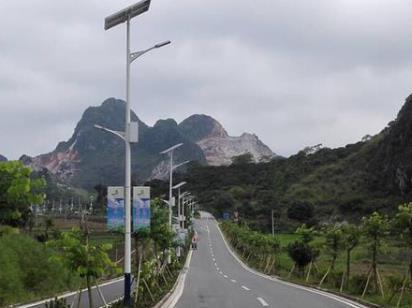 太陽能LED路燈——環境保護又節能!