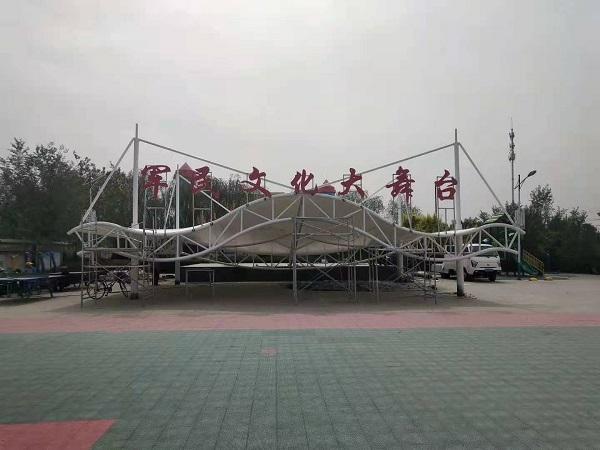 宁夏膜结构舞台