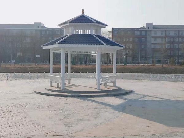 宁夏防腐木景观