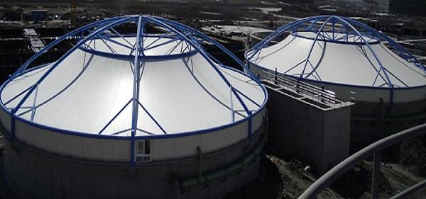 你知道吗?使用污水池膜结构进行城市污水处理是有很多好处的