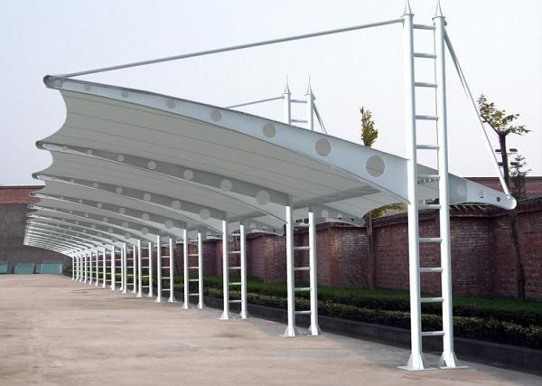 膜结构停车棚在施工前需要注意的那些事情
