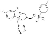 149809-43-8 (5R-cis)-甲苯-4-磺酸 5-(2,4-二氟苯基)-5-(1H-1,2,4-三氮唑-1-基)甲基四氢呋喃-3-基甲基酯