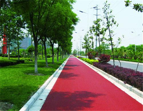 陕西彩色路面的色彩设计与评价,这些你知道吗!