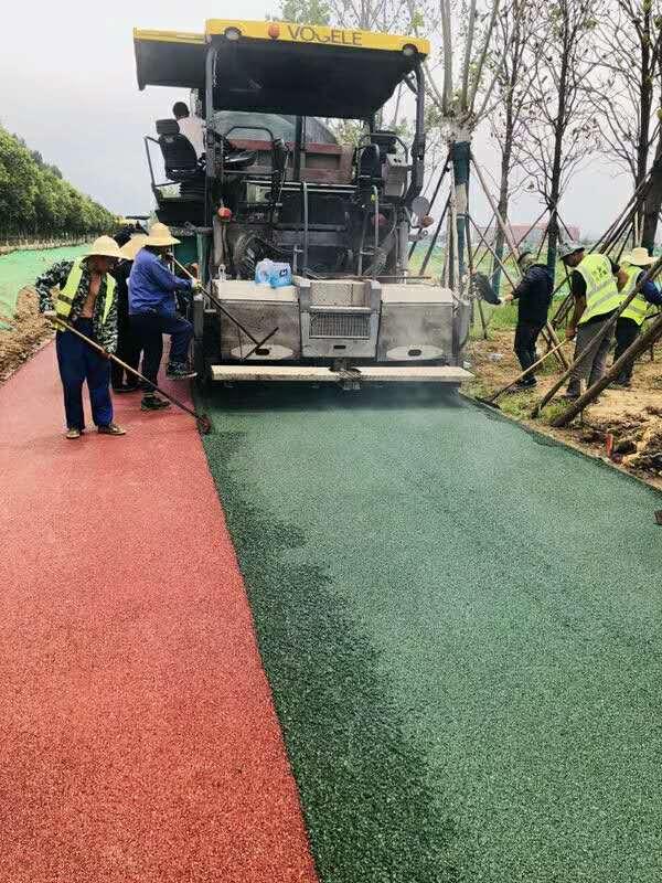 陕西彩色沥青路面有哪几种做法?今天就给大家分享下!