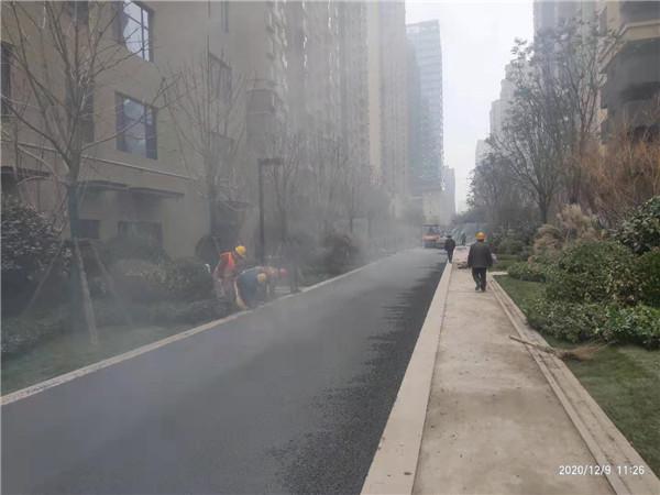 普通沥青路面工程