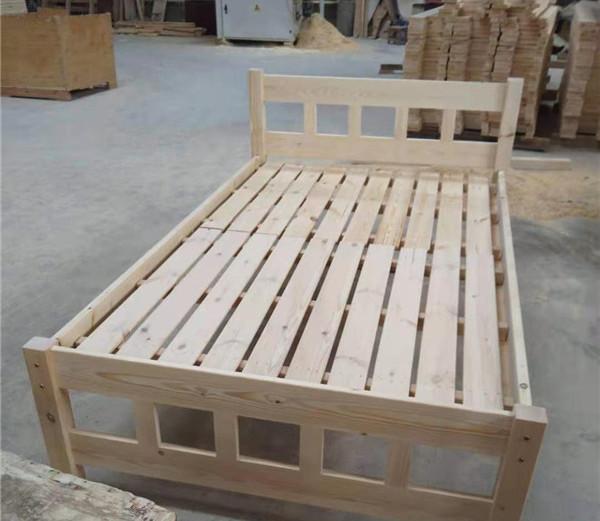 西安实木单层床定制