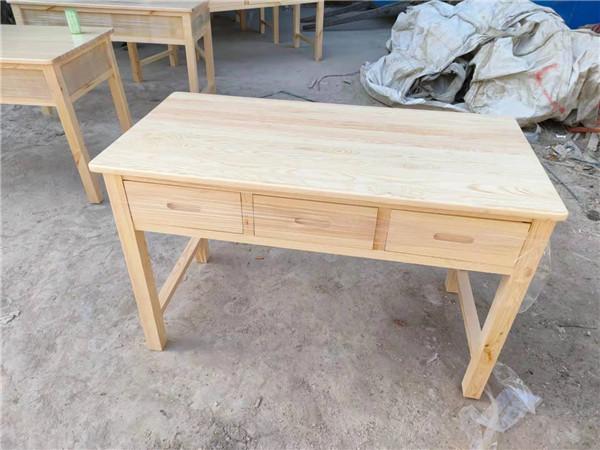 实木课桌椅案例