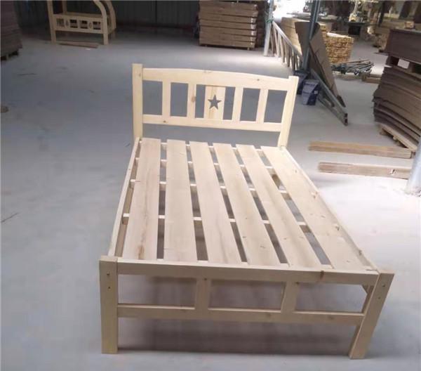 实木单层床厂家