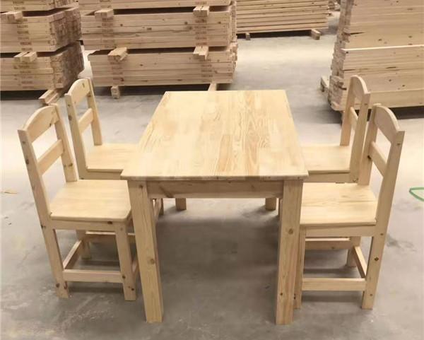 西安实木课桌椅