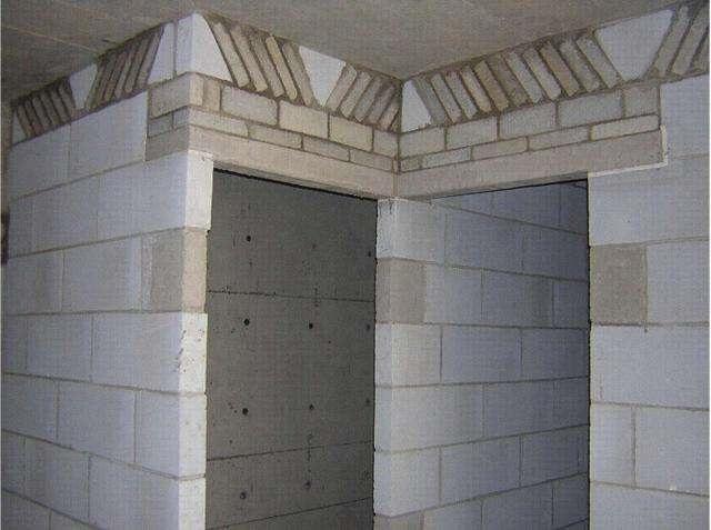 加气块墙应用案例