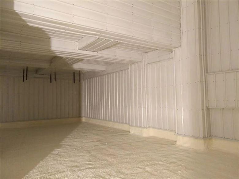 冷库保温工程顶面灌装工艺