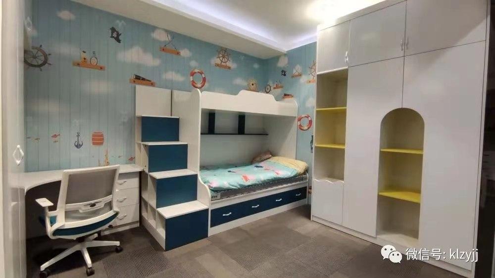 全屋定制家具-上下鋪兒童床-衣柜-電腦桌
