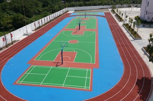 河南硅PU球场建设