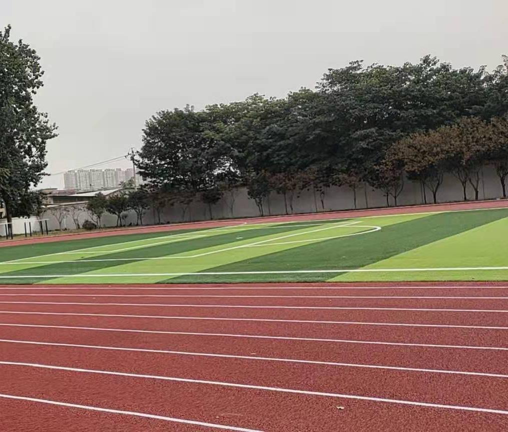 塑胶跑道施工案例
