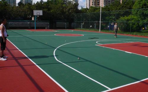 河南硅PU球场施工案例