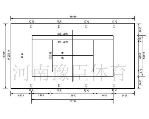 丙烯酸网球场设计图