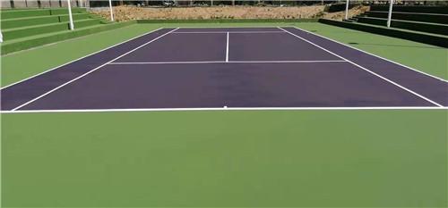 河南丙烯酸网球场