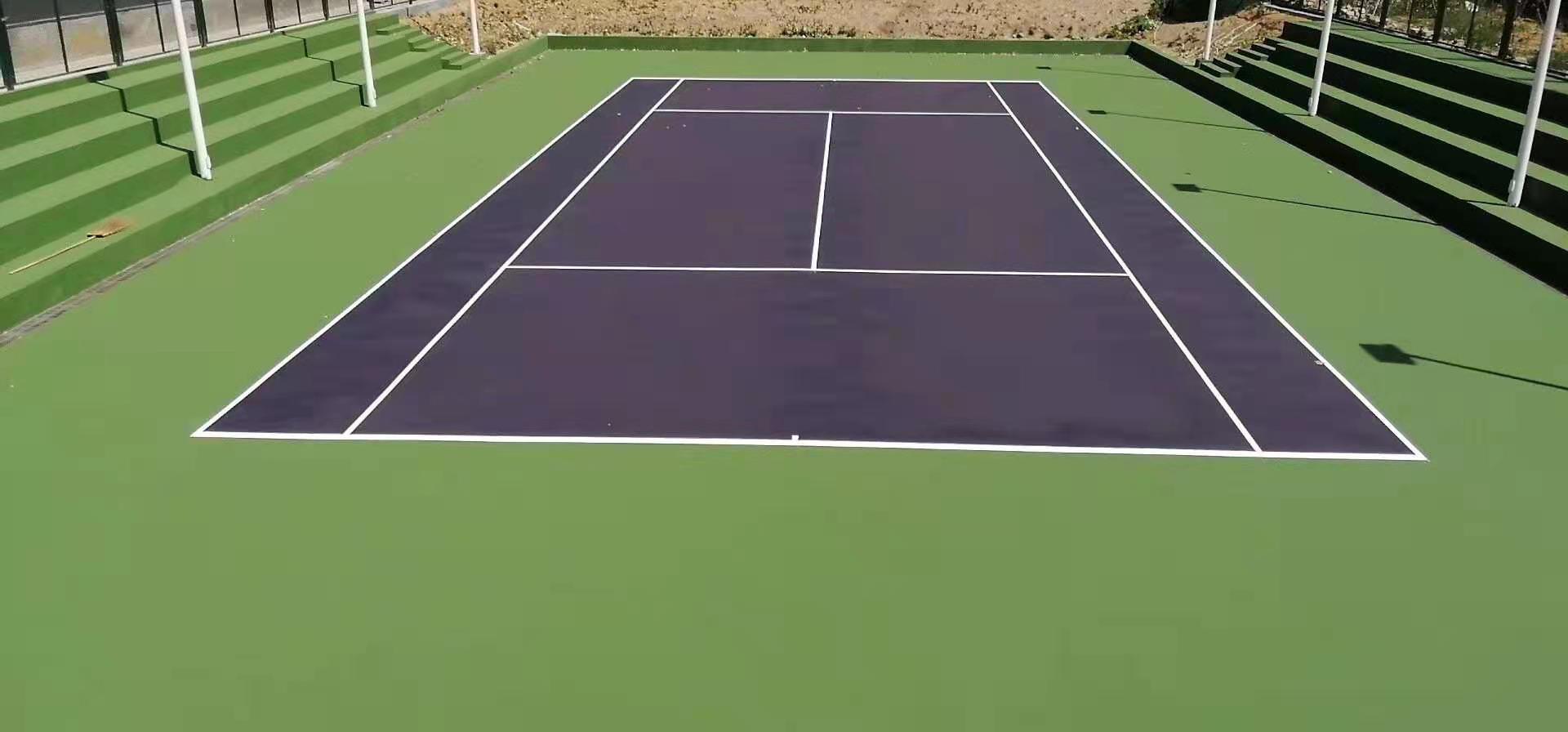 丙烯酸网球场建设